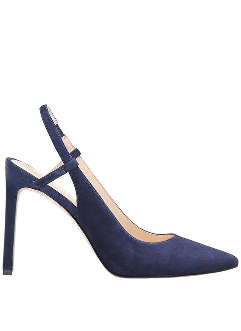 Nine West %100 Süet Klasik Ayakkabı Lacivert